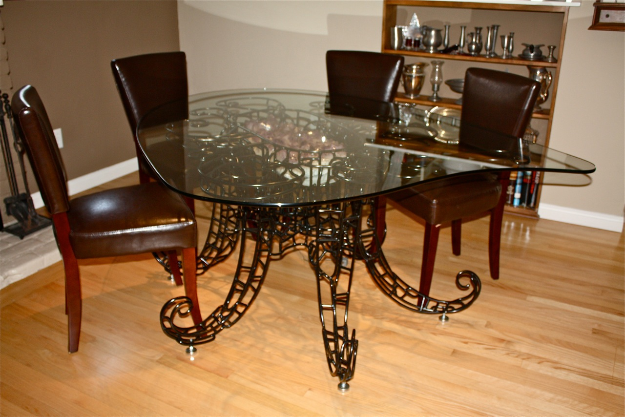 Amethyst Sculptured Table