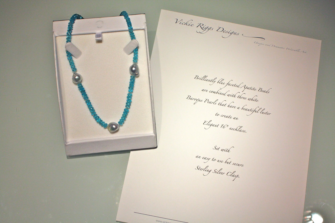 Apatite Necklace for Fundraiser