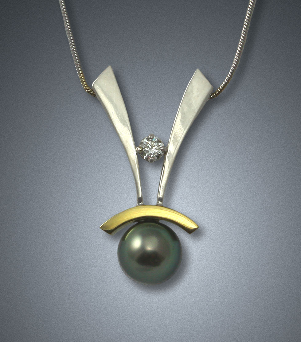 'Forever Yours' Pearl Pendant