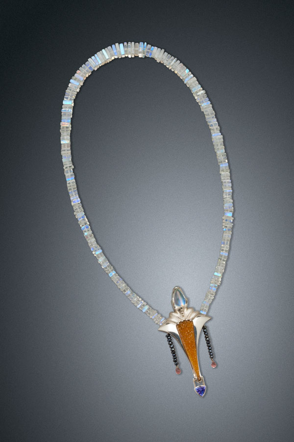 Mystic Moonstone Necklace